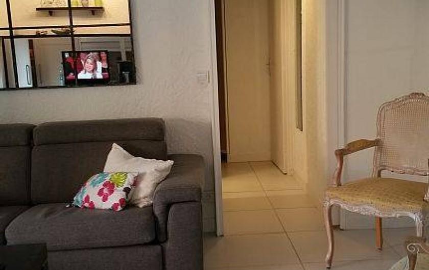 Location de vacances - Appartement à Cavalaire-sur-Mer - acces chambre