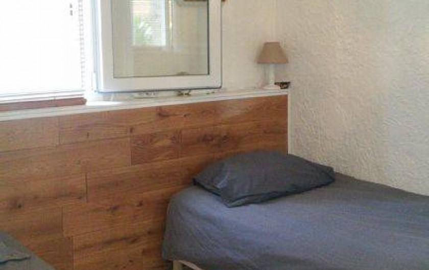 Location de vacances - Appartement à Cavalaire-sur-Mer - la chambre