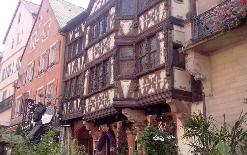 Location de vacances - Chambre d'hôtes à Monswiller - Zone piétonne de Saverne: La maison Katz