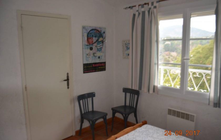 Location de vacances - Villa à Les Issambres - chambre bleue