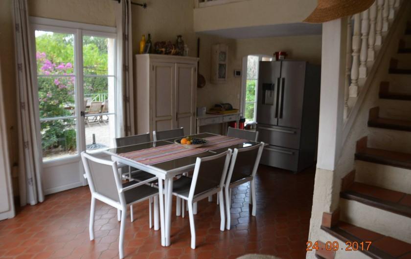Location de vacances - Villa à Les Issambres - séjour