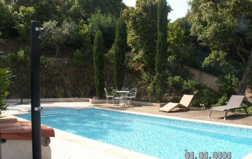 Location de vacances - Villa à Les Issambres - La piscine