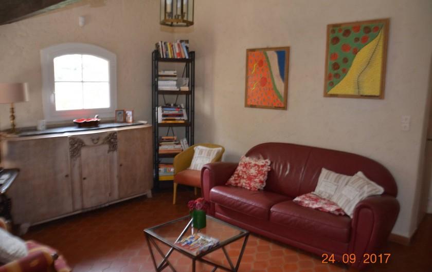 Location de vacances - Villa à Les Issambres - la mezzanine