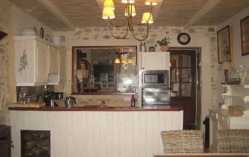 Location de vacances - Maison - Villa à Bénodet - cuisine