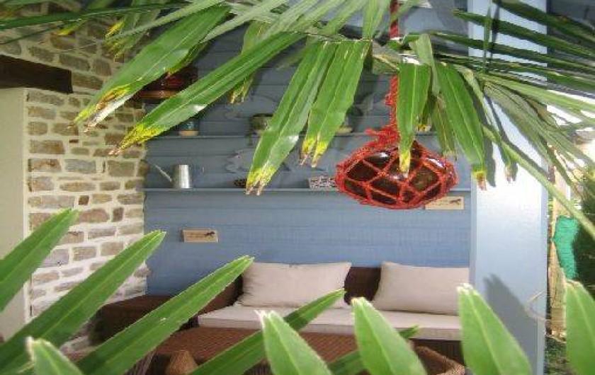 Location de vacances - Maison - Villa à Bénodet - terrasse