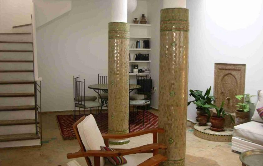 Location de vacances - Maison - Villa à Asilah - SALON-COMEDOR,