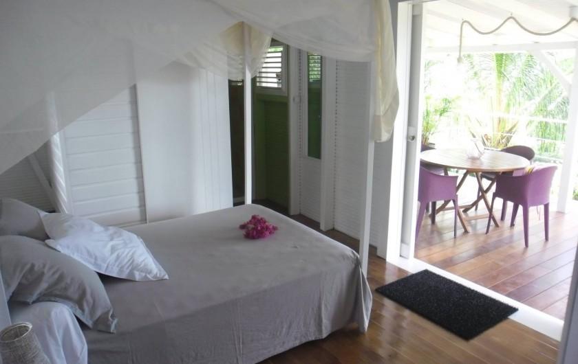 Location de vacances - Maison - Villa à Le Diamant - Chambre