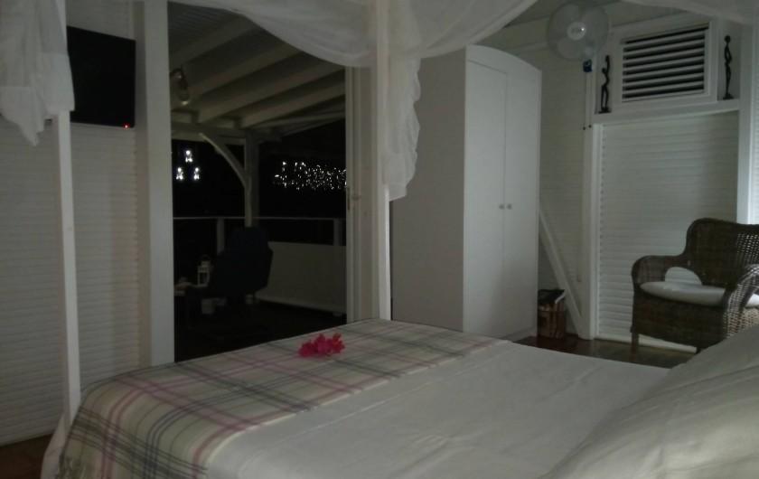 Location de vacances - Maison - Villa à Le Diamant - Terrasse 20m² abritée de la pluie