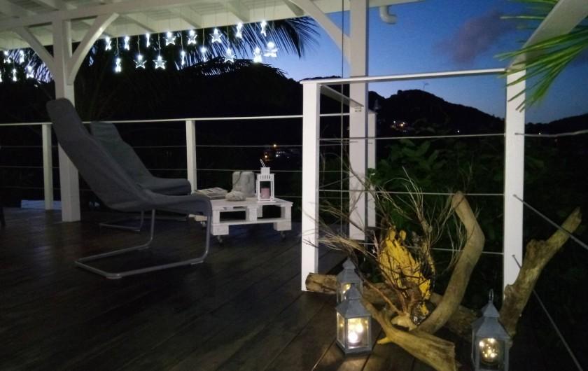 Location de vacances - Maison - Villa à Le Diamant - Salon vue de l'entrée
