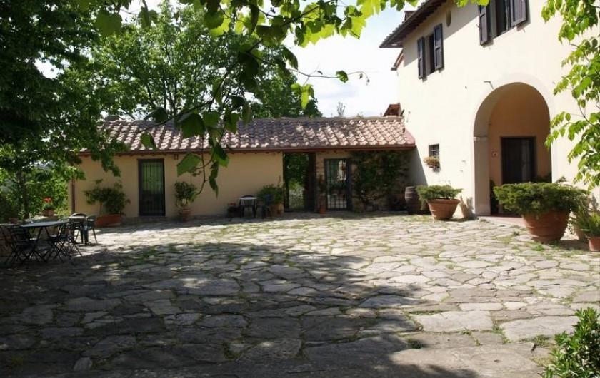 Location de vacances - Appartement à San Jacopo Al Girone - La court