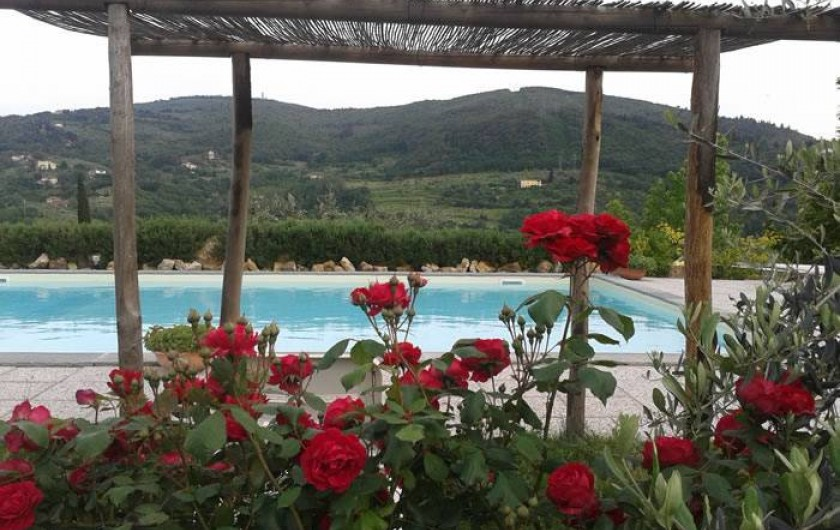 Location de vacances - Appartement à San Jacopo Al Girone - Piscine