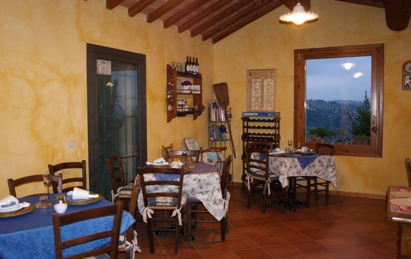 Location de vacances - Appartement à San Jacopo Al Girone - Salle du petit déjeuner
