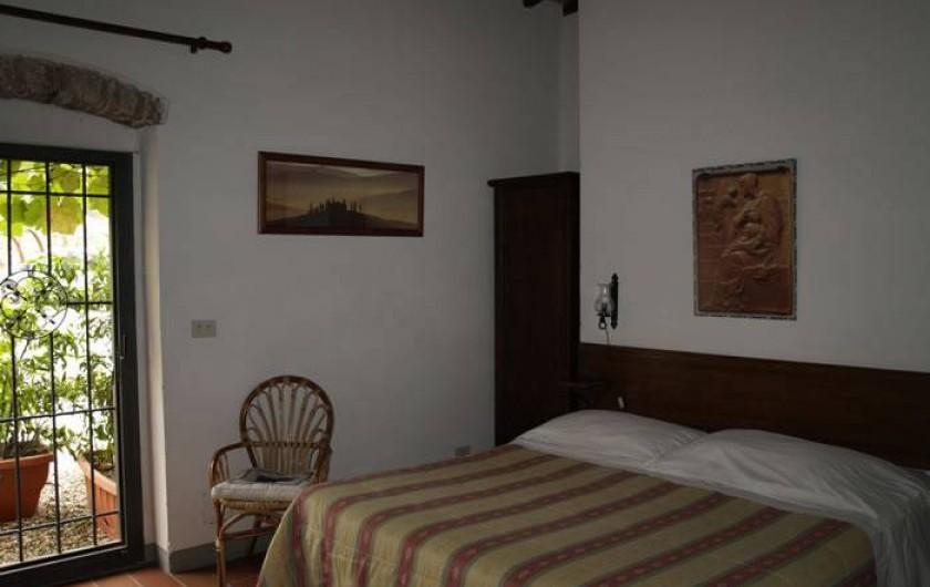 """Location de vacances - Appartement à San Jacopo Al Girone - Chambre de la location """"Fienile all'Ombra"""""""