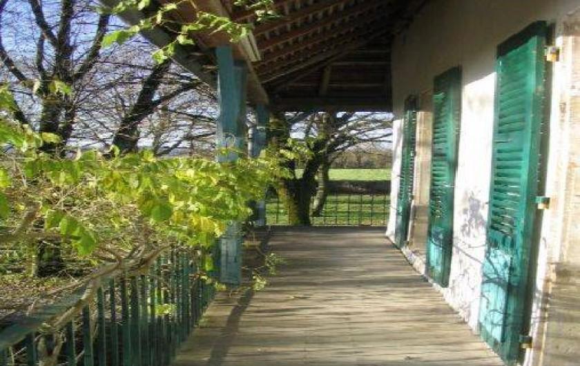 Location de vacances - Gîte à Vertamboz