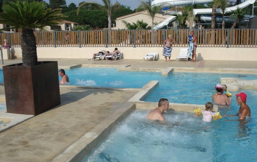 Location de vacances - Maison - Villa à Portiragnes Plage - balnéo