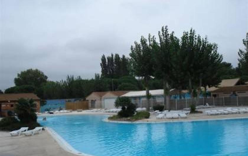 Location de vacances - Maison - Villa à Portiragnes Plage - piscine des tamaris