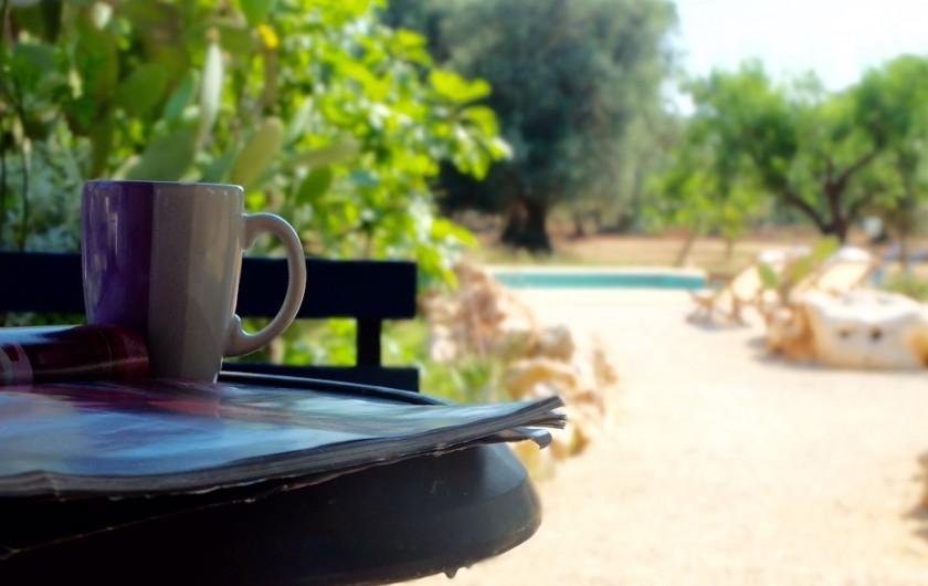 Location de vacances - Villa à San Vito dei Normanni - vue sur la piscine