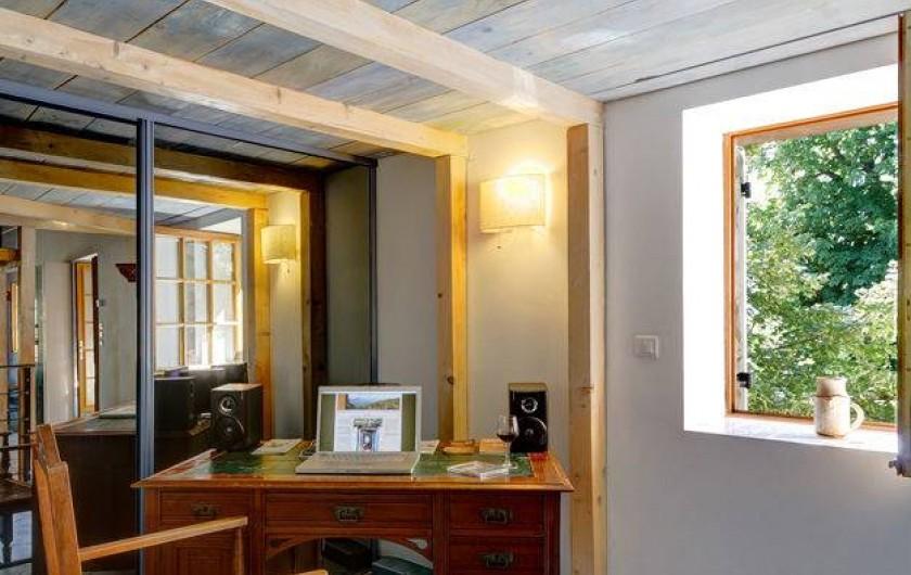 Location de vacances - Gîte à Rochessauve - Study