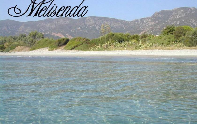 Location de vacances - Appartement à Tertenia - plage a 5mn