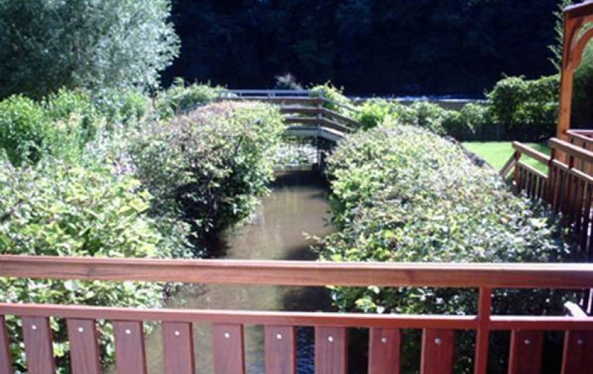 Location de vacances - Chalet à Périgueux - Vue du canal
