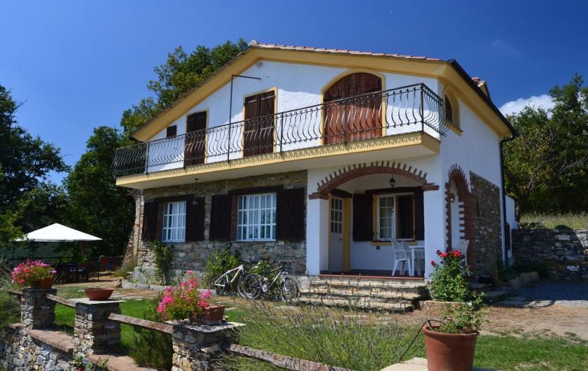 Location de vacances - Gîte à Vasia - la maison roccolo