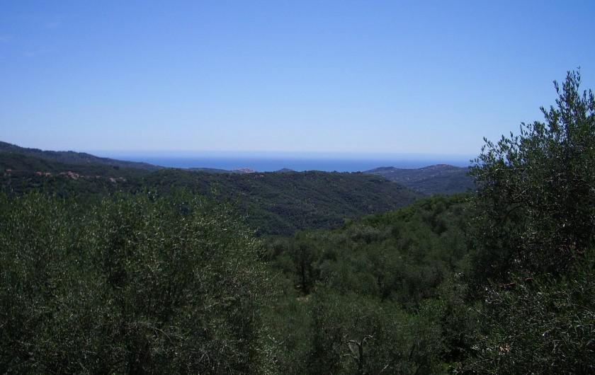 Location de vacances - Gîte à Vasia - Panorama sur la valle Prino