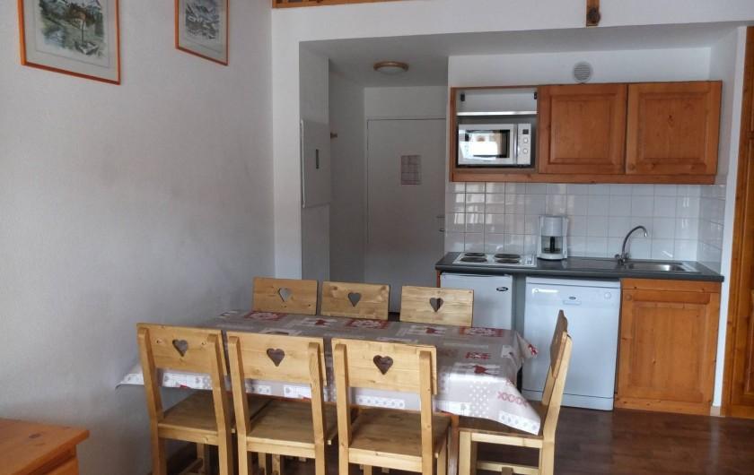 Location de vacances - Appartement à Station de Valfréjus - cuisine entièrement équipée