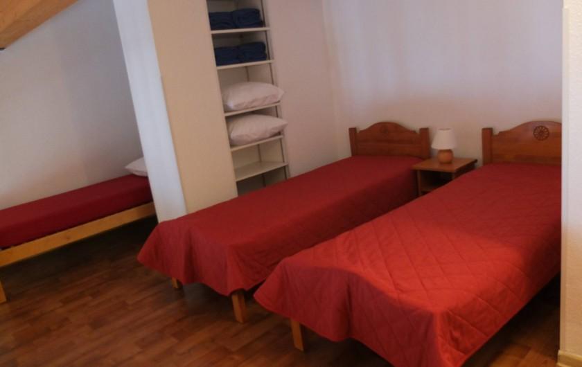 Location de vacances - Appartement à Station de Valfréjus - Mezzanine 3 lits une personne