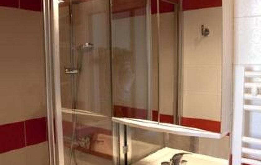 Location de vacances - Appartement à Trouville-sur-Mer - Salle d'eau