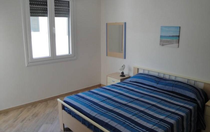 Location de vacances - Appartement à Torre San Giovanni - Chambre avec lit double