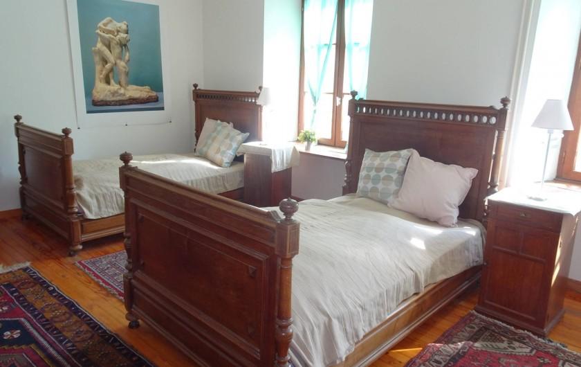 """Location de vacances - Chambre d'hôtes à Lods - Chambre """"Claudel"""""""