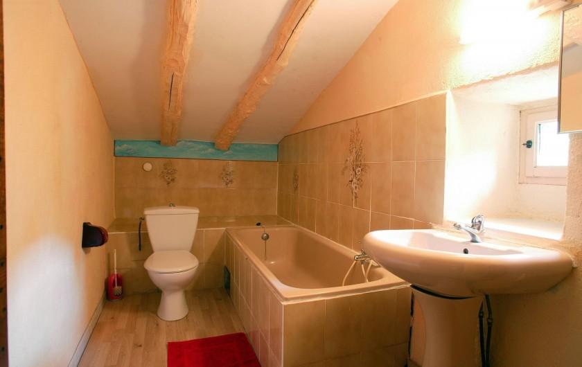 Location de vacances - Gîte à Cros - Salle de bain