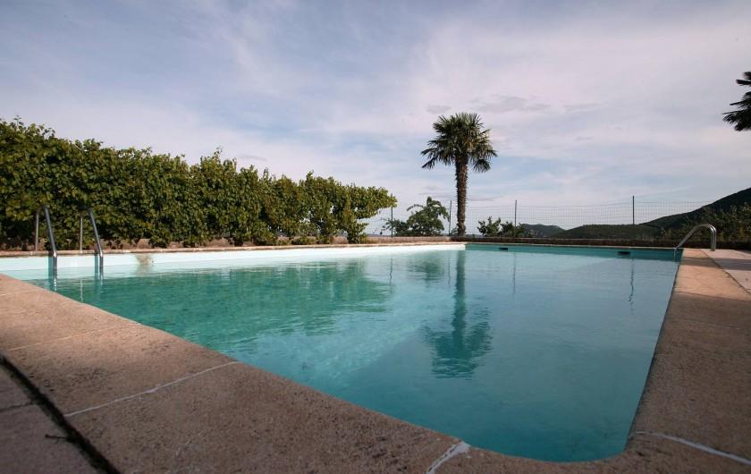 Location de vacances - Gîte à Cros - La piscine