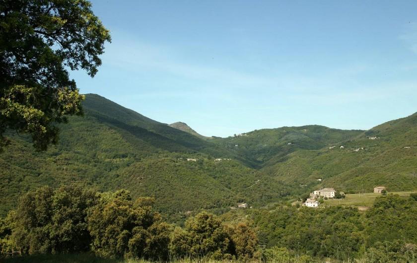 Location de vacances - Gîte à Cros - Vue depuis la terrasse