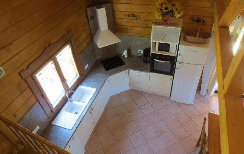 Location de vacances - Chalet à Saissac - La cuisine.