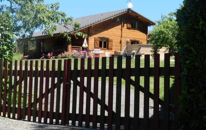 Location de vacances - Chalet à Saissac - Vue d'ensemble