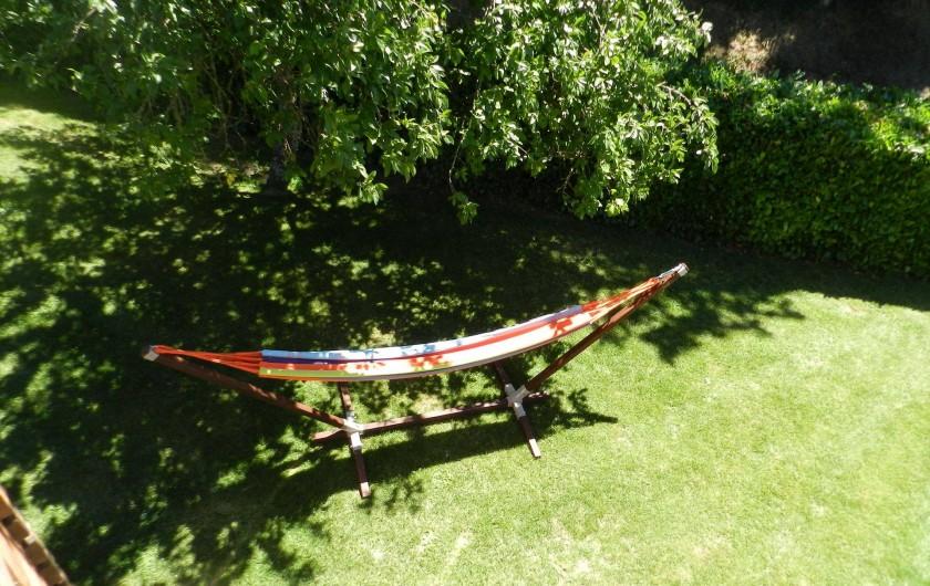 Location de vacances - Chalet à Saissac - Le hamac.