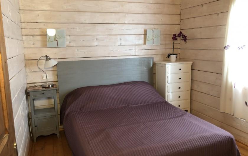 Location de vacances - Chalet à Saissac - La terrasse.