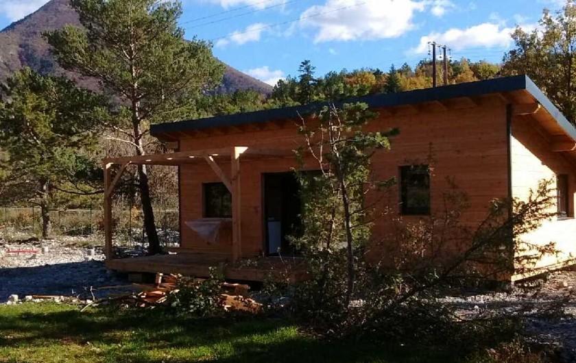 Location de vacances - Chalet à Veynes - chalet 6 personnes