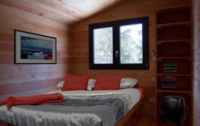Location de vacances - Chalet à Veynes - la grande chambre