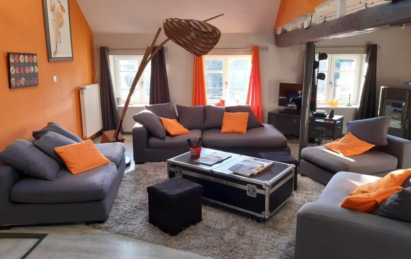 Location de vacances - Appartement à Beaune - Coin salon