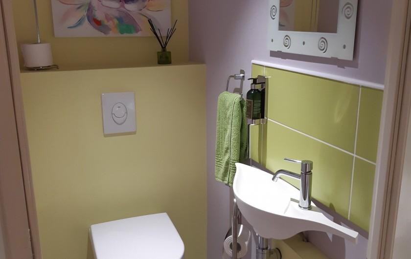 Location de vacances - Appartement à Beaune - WC au RDC