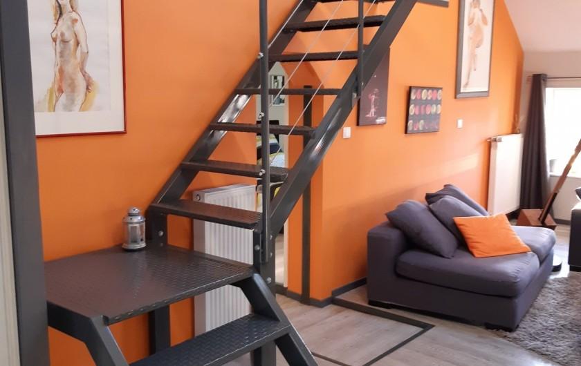 Location de vacances - Appartement à Beaune - Accès au coin nuit