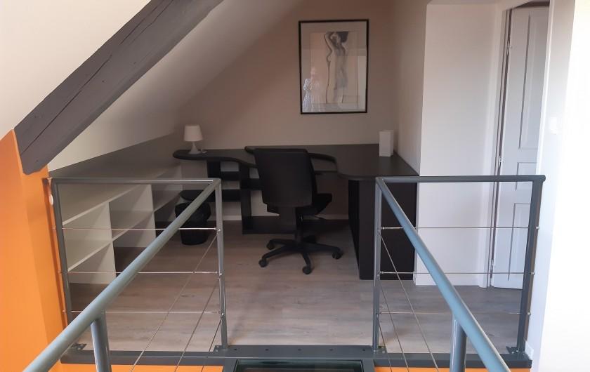 Location de vacances - Appartement à Beaune - Espace de travail !