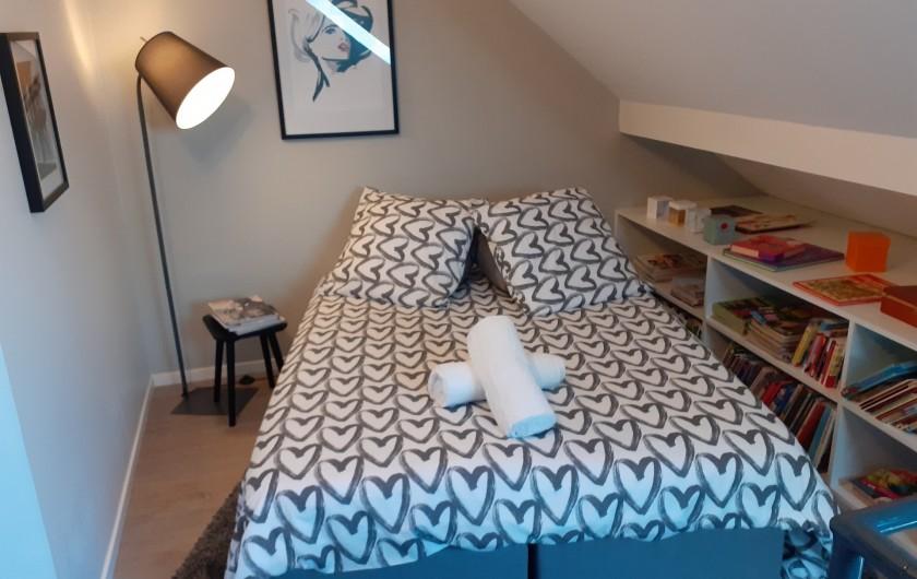 Location de vacances - Appartement à Beaune - Coin sommeil en mezzanine
