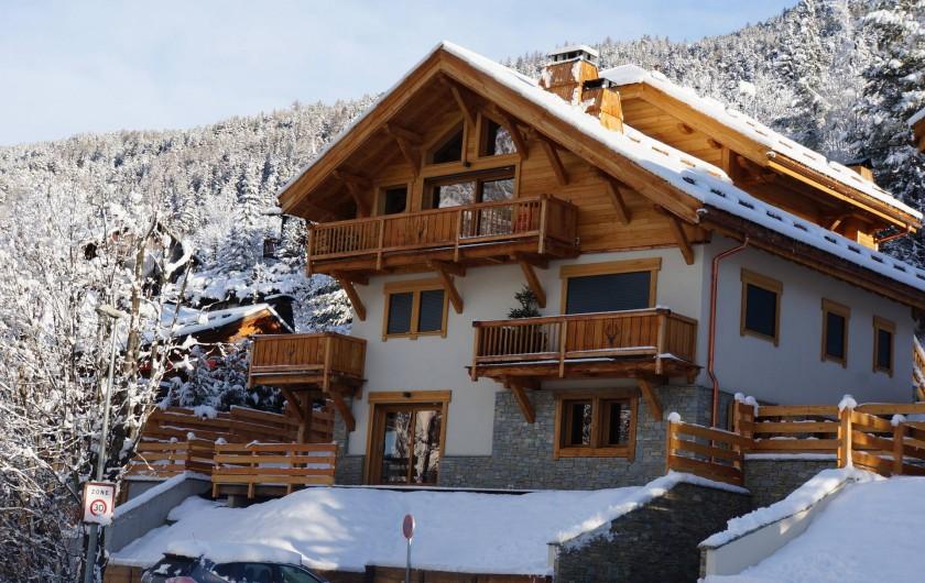 Location de vacances - Appartement à La Salle-les-Alpes - Résidence La Datcha Appartement Baïkal niveau 3/4