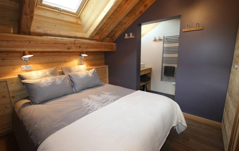 Location de vacances - Appartement à La Salle-les-Alpes - Chambre 3 avec salle de douche privative