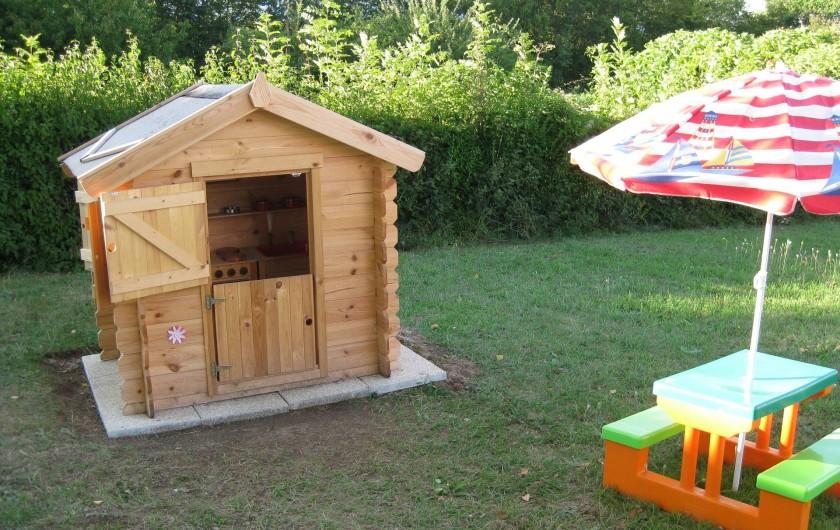 Location de vacances - Chalet à Excenevex - Chalet enfants