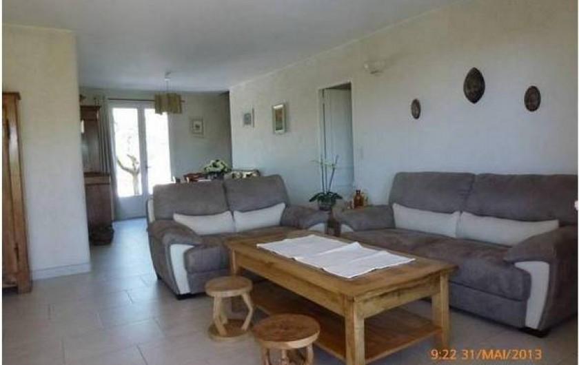 Location de vacances - Maison - Villa à Mérindol - Séjour et coin salon