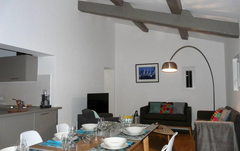 Location de vacances - Appartement à Ramatuelle - Salon